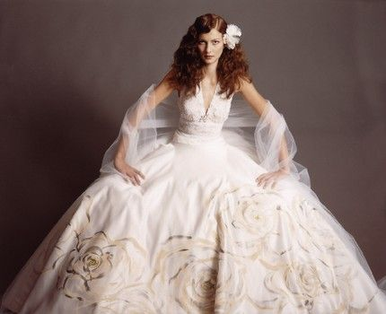 Giant Ball Gown In Case You Want To Be Swallowed Whole By Your Wedding Dress Ouo