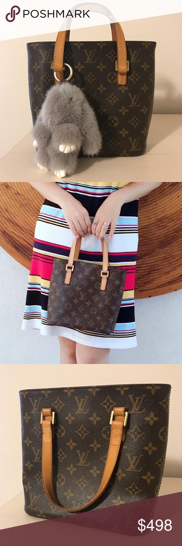 f9808171de7a Louis Vuitton vavin pm monogram handbag small tote Bunny Key chain❌ not  included‼️