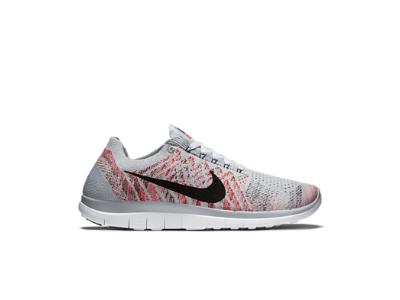 Nike Free 4.0 Flyknit Femmes Chaussure De Course .png Blanc