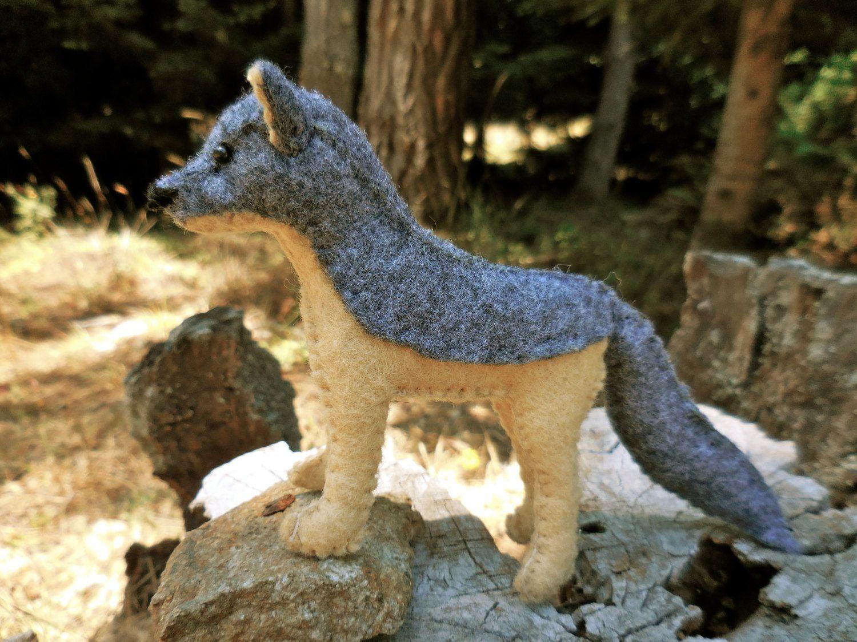 Wolf stuffed animal, realistic wolf, wolf toy, stuffed