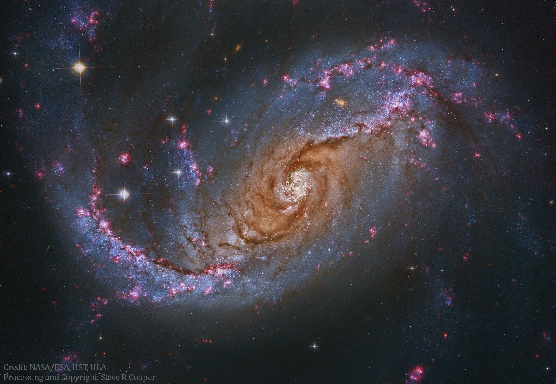 Ngc 1672 Barred Spiral Galaxy From Hubble Image Credit Hubble Legacy Archive Nasa Esa Processing Copyright Steve Cooper The H Spiral Galaxy Hubble Space Telescope Hubble Space