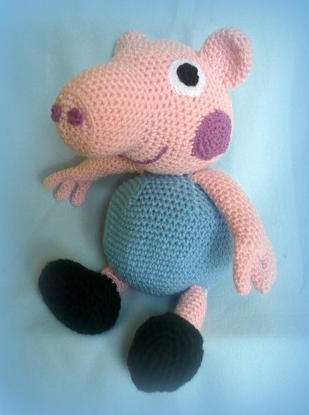 Häkeln Peppa Pigs Bruder Pdf Pattern Anleitung Von Crochetland
