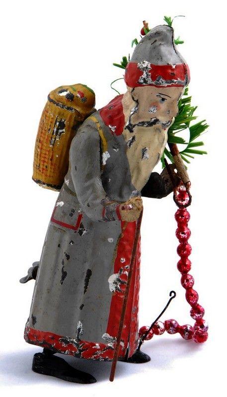 1900 g nthermann weihnachtsmann antike weihnachtsdeko for Antike weihnachtsdeko