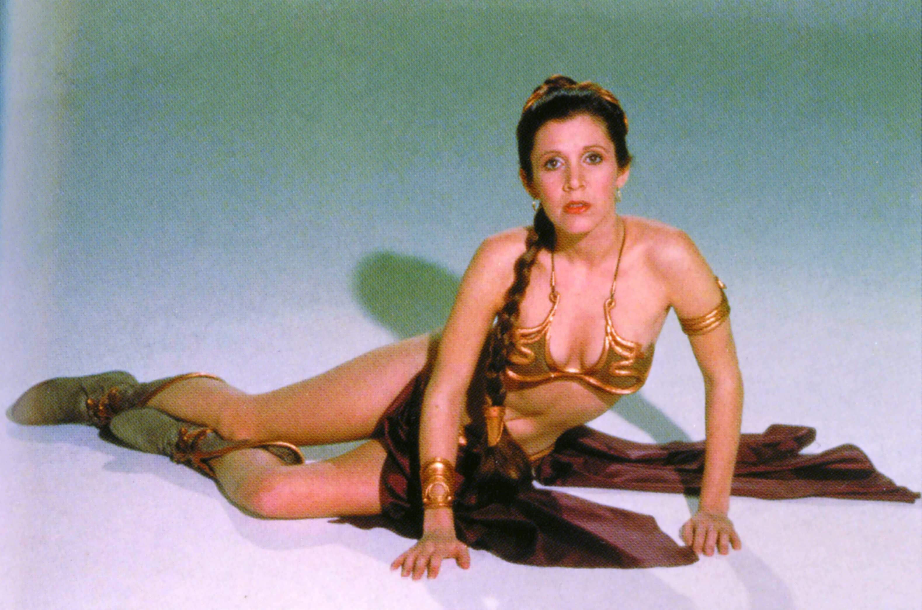 Carrie fisher tease 6