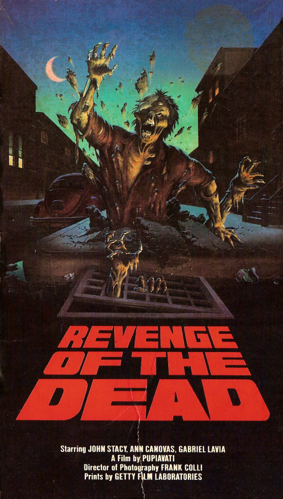 Revenge Of The Dead Aka Zeder 1983 Masters Of The 80 S Horror Movie Art Zombie Movies 1980s Horror Movies