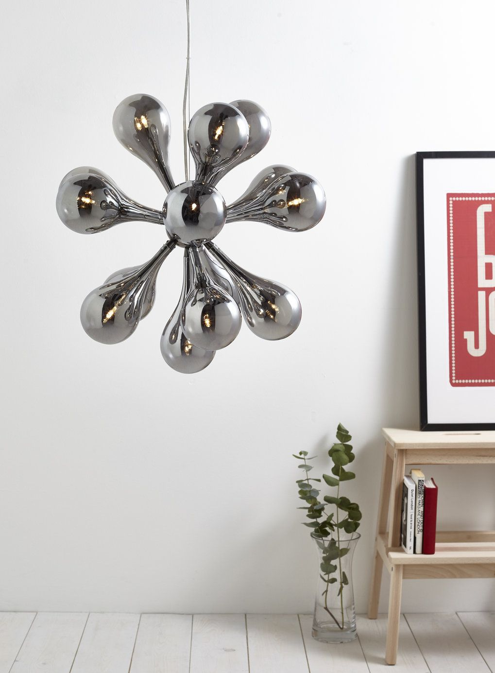 Rosco 15 Light Sputnik Light - BHS   Home   Pinterest   Bhs, Ceiling ...