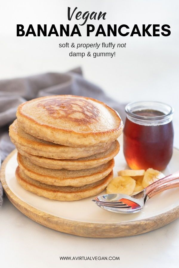 The Best Vegan Banana Pancakes images