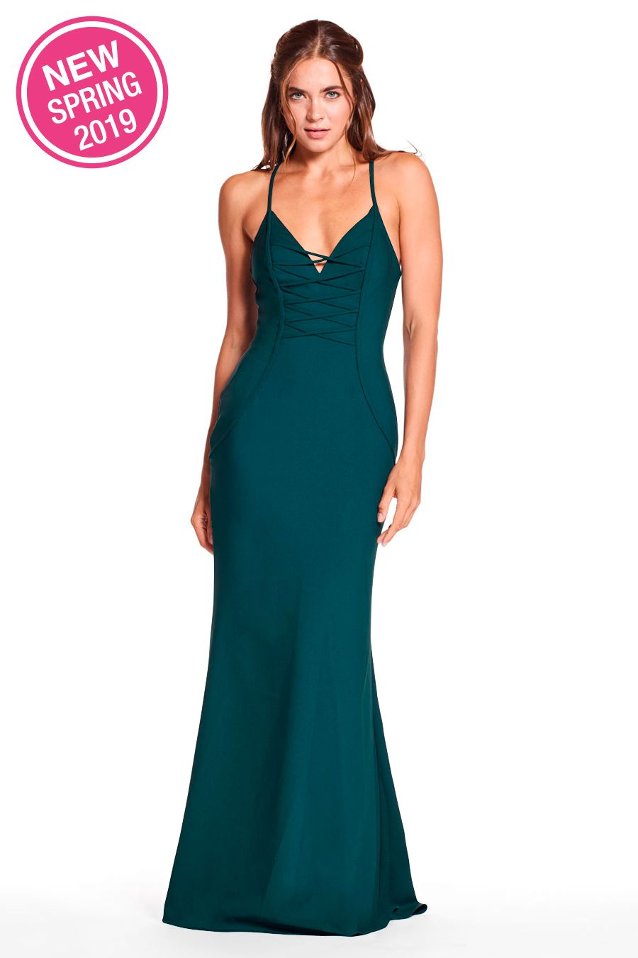 de8e14b3e44 STYLE  1902 Long aquamarine turquoise bridesmaid dress gown for elegant and  modern weddings. Perfect for any season