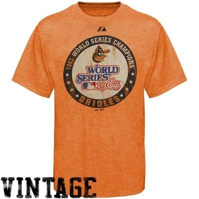 newest e46fd 19f79 Majestic Baltimore Orioles Orange Cooperstown Training Up ...