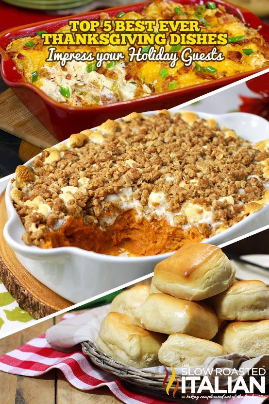 Top 5 Best Ever Thanksgiving Day Side Dishes