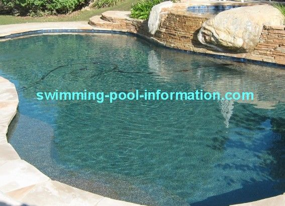 Gold Pebble Pool Liner Below Are The Same Pool After