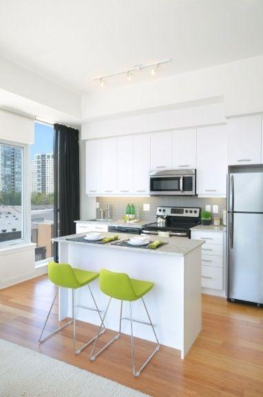 limelight condominiums model kitchen  condominium