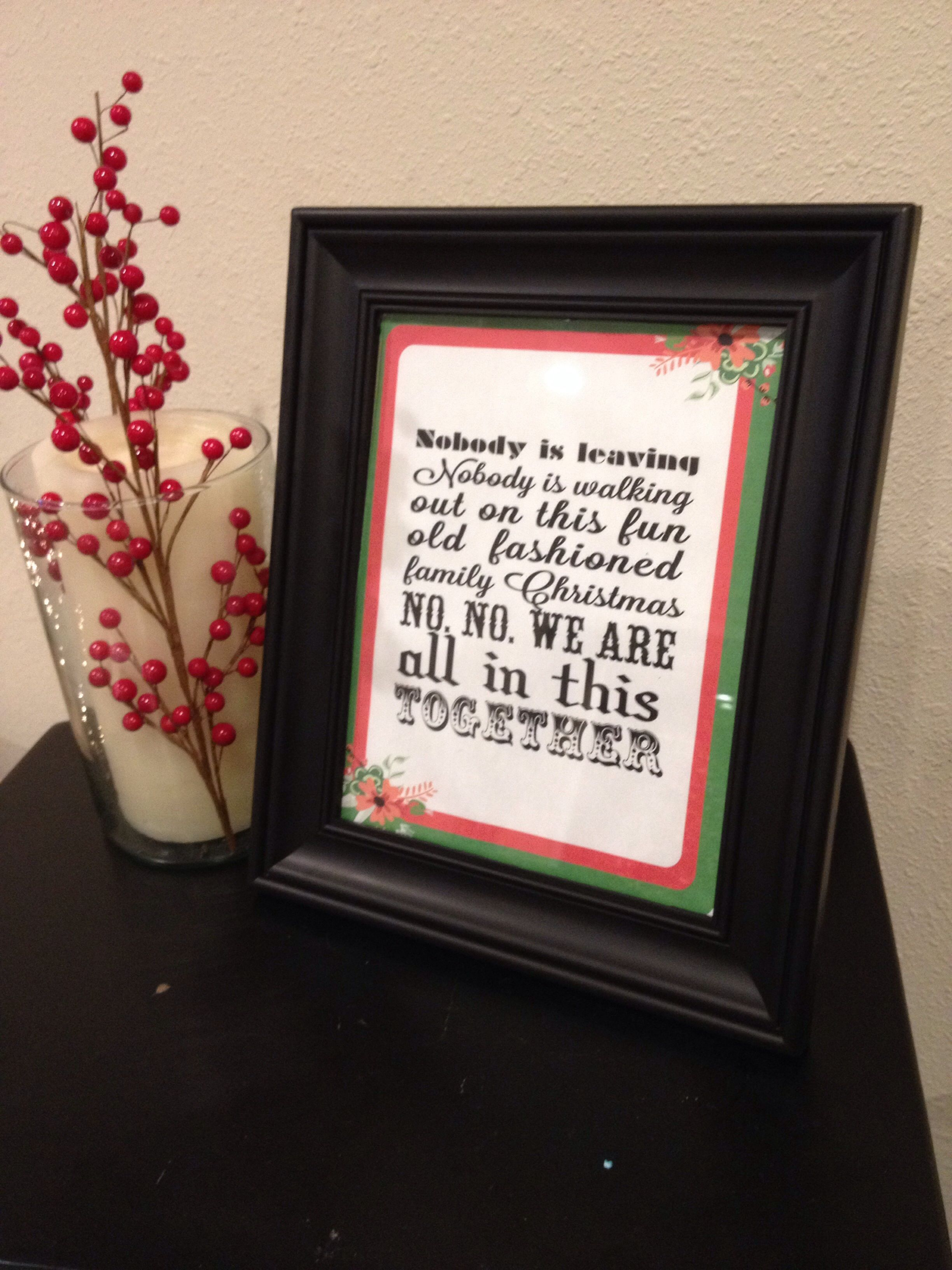 Christmas Vacation Party Ideas Part - 30: National Lampoonu0027s Christmas Vacation Free Holiday Printable
