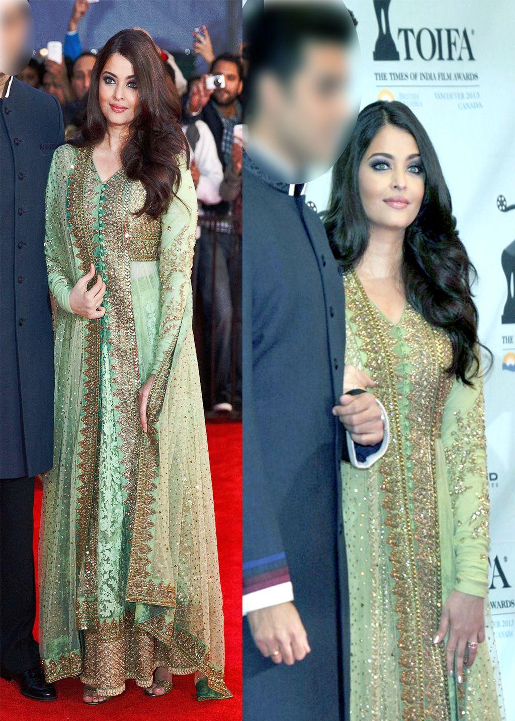 Aishwarya Rai Toifa Designer Lehenga Set 26680 Green Lehenga Asian Outfits Lehenga