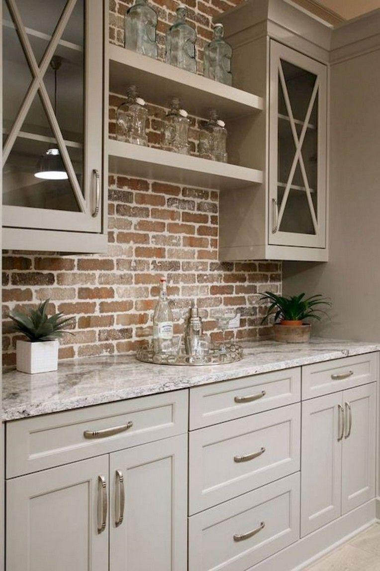 44+ Simple Farmhouse Kitchen Cabinets Makeover Ideas