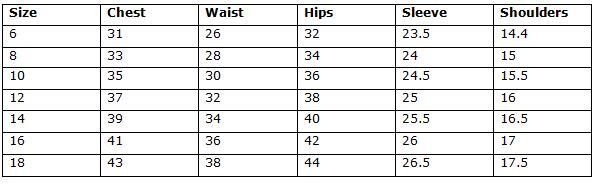 Women S Waist Size Conversion Chart Las Chaps Outseam Thigh Reg