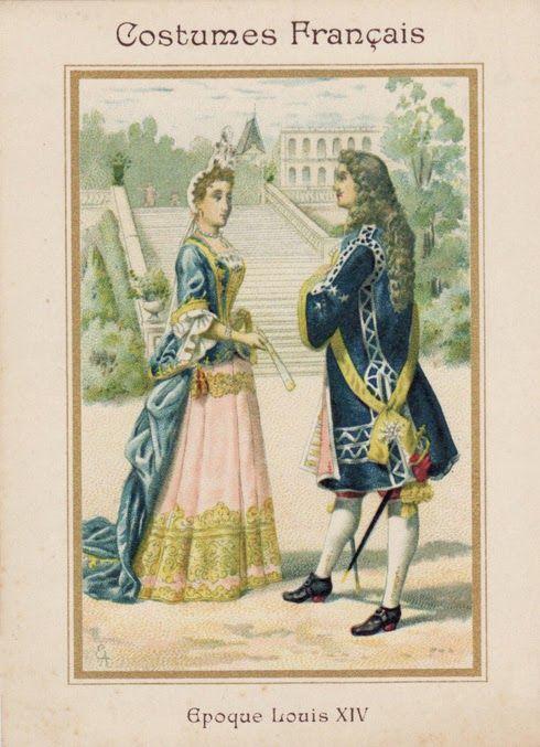 Resultado de imagen para vetments epoque du roi Louis XIV