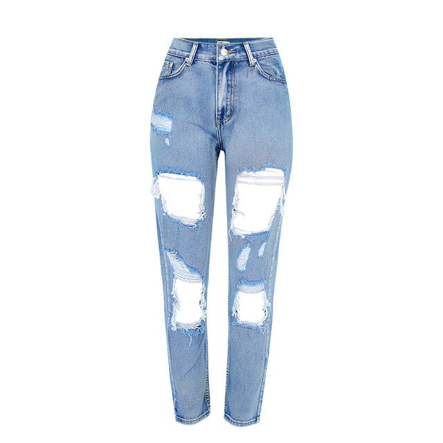 Ripped Jeans Beggar Big Holes Destroyed Broken Torn Pants Pu27 Pants Ripped Jeans Pant Trends