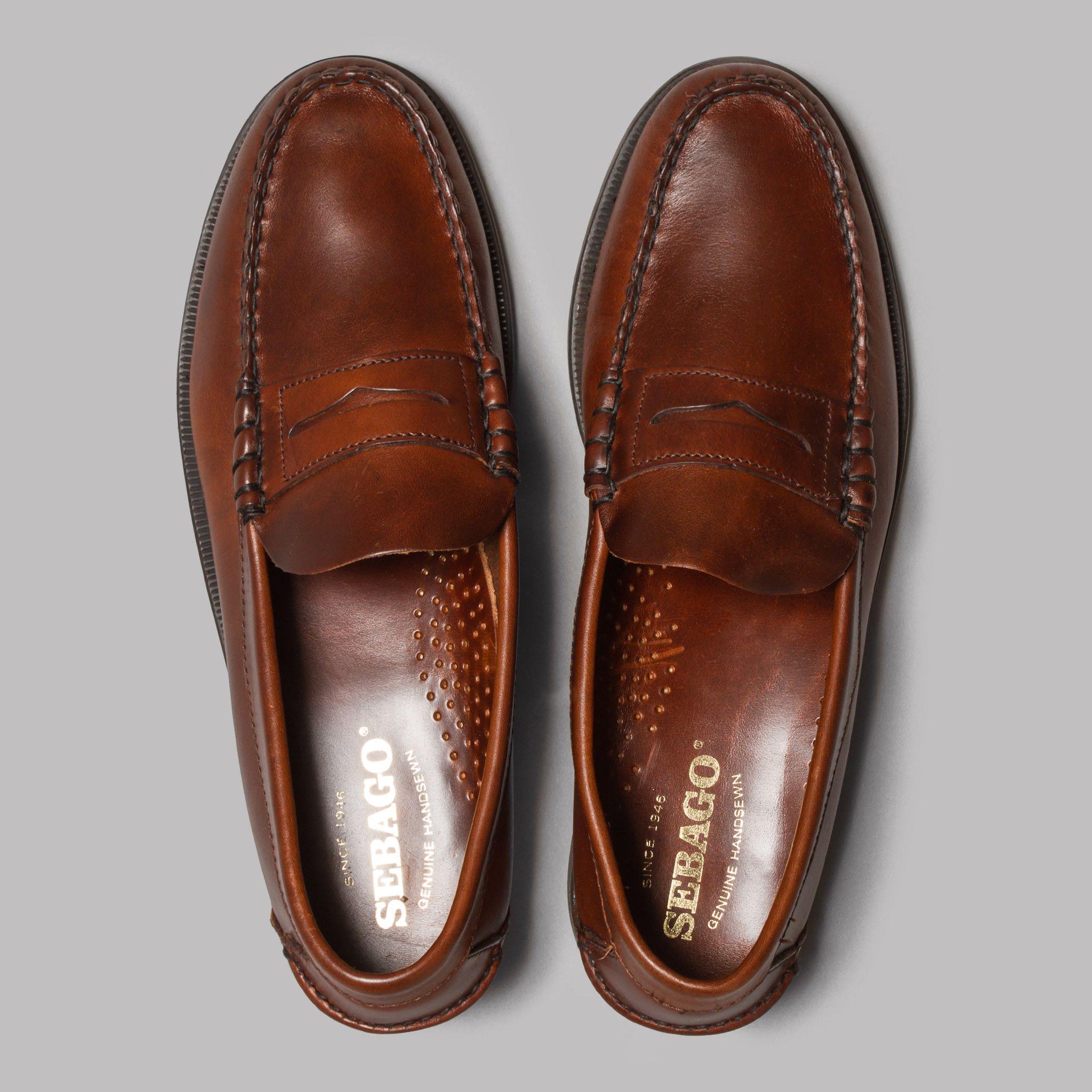 Sebago Classic (Brown Oiled Waxy)