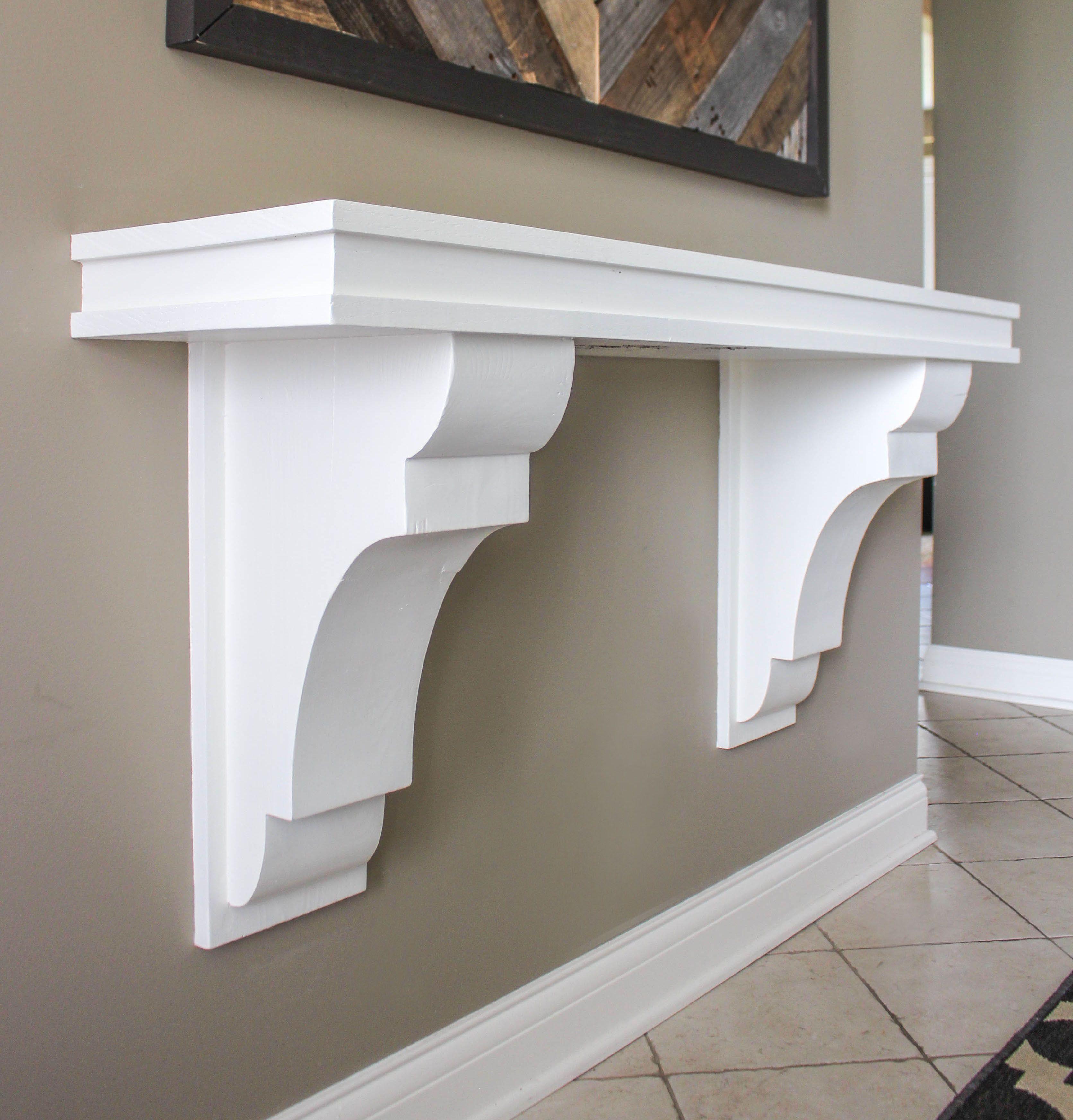 Architectural Supports Shelves : Best corbels shelf ideas on pinterest farmhouse