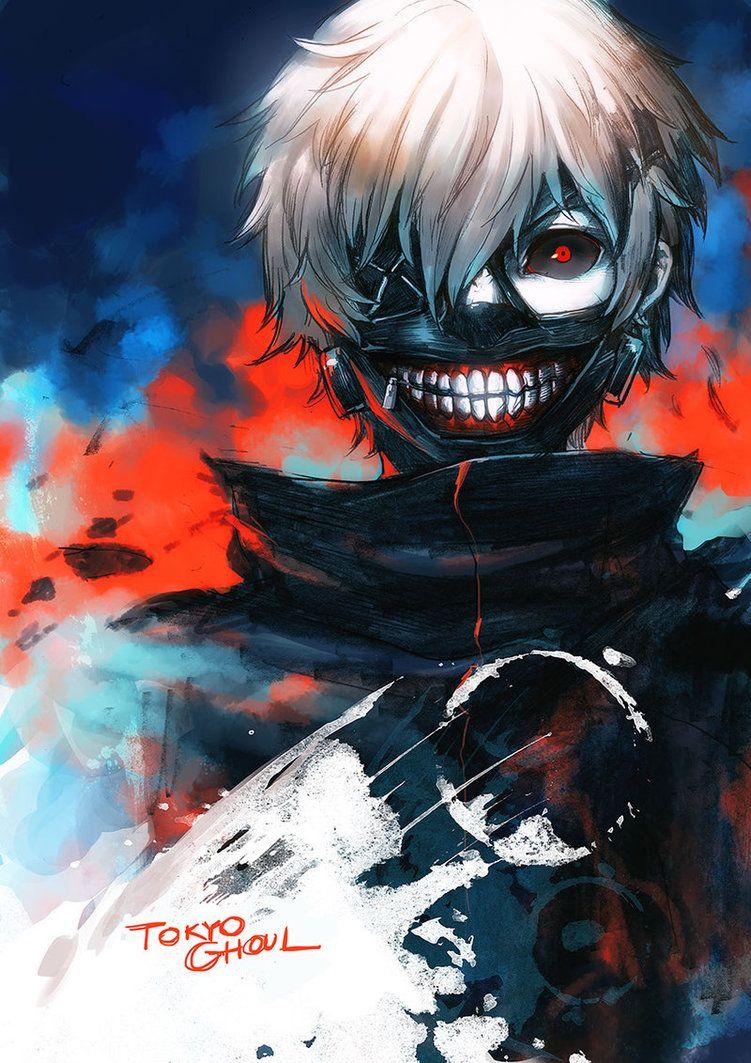 Tokyo Ghoul Anime Staffel 1 Ger Sub Manga Naruto Art