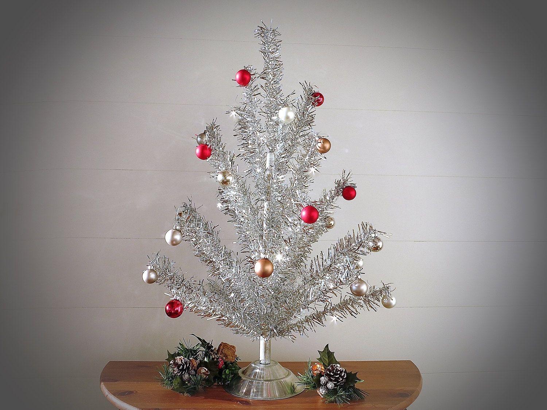 Vintage Silver Tinsel Christmas Tree Twinkle Bright Silver Christmas Tree Silver A Tinsel Christmas Tree Silver Tinsel Christmas Tree Silver Christmas Tree