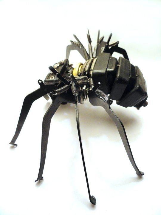 Awesome Typewriter Assemblage Sculptures