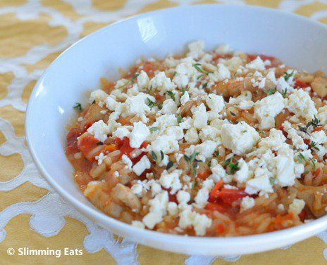 recipe: tomato and feta risotto [17]