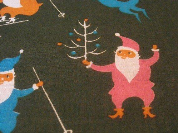 Tammis Keefe Christmas hanky