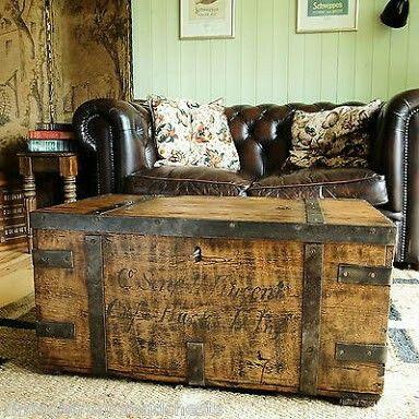 Increíble Troncos De Mesa De Café Con Muebles De Almacenamiento ...