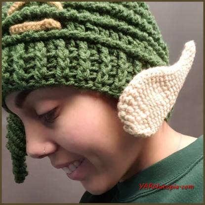 Crochet Tutorial Elf Ears YARNutopia By Nadia Fuad