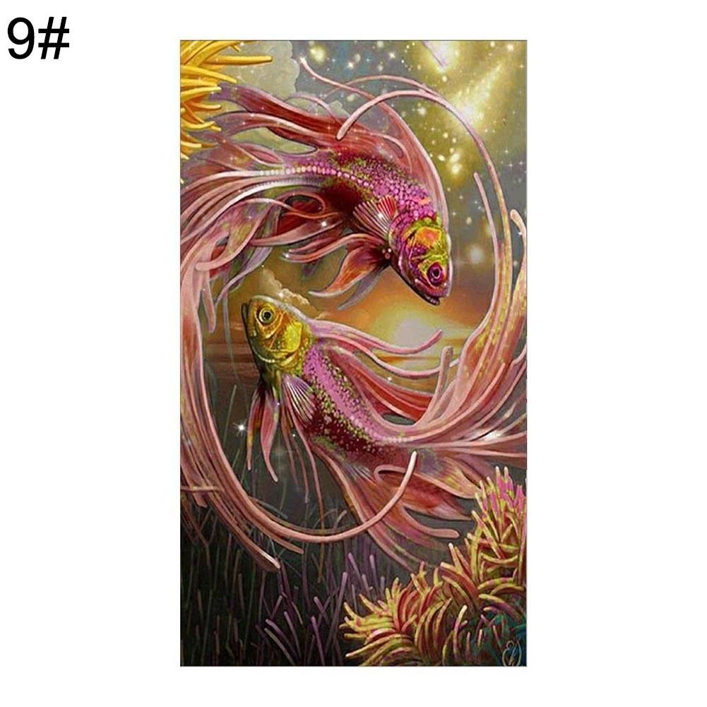 Photo of 5D DIY Diamond Painting Flower Tree Embroidery Cross Art Craft Stitch Home Decor – as the picture ai