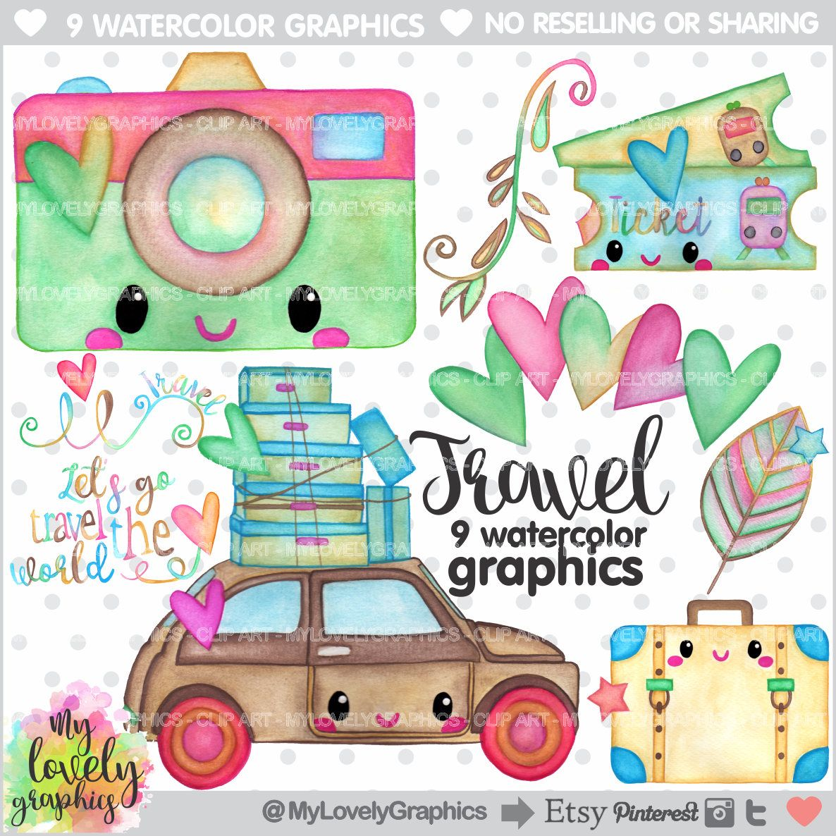 75 off travel clipart travel graphics commercial use kawaii clipart watercolor clipart let s travel the world traveling clipart [ 1186 x 1186 Pixel ]
