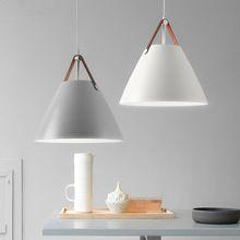 Moderne Nordic minimalistische creatieve opknoping verlichting bar ...