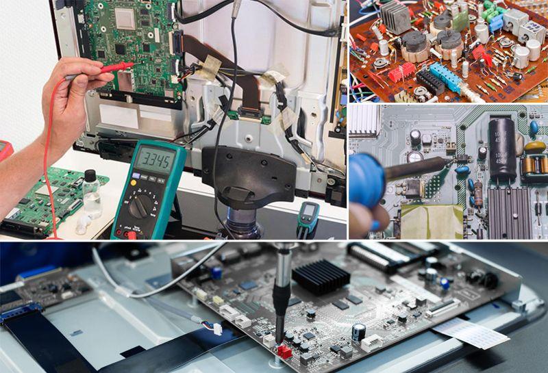 دورة صيانة شاشات التلفزيون الحديثة Lcd Led Academy