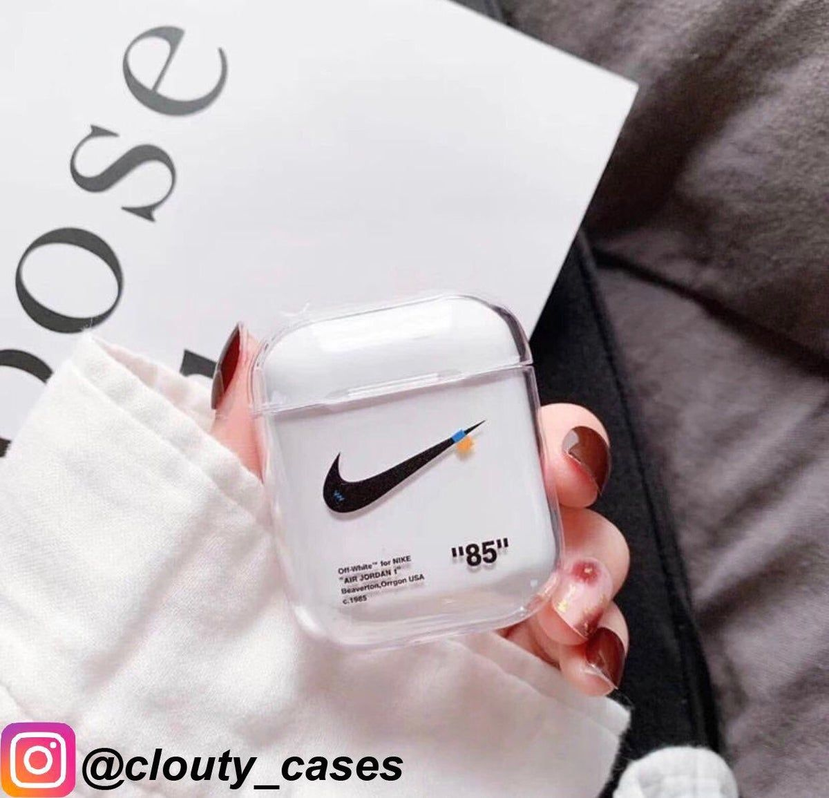 Off White Airpod Case | Earphone case, Airpod case