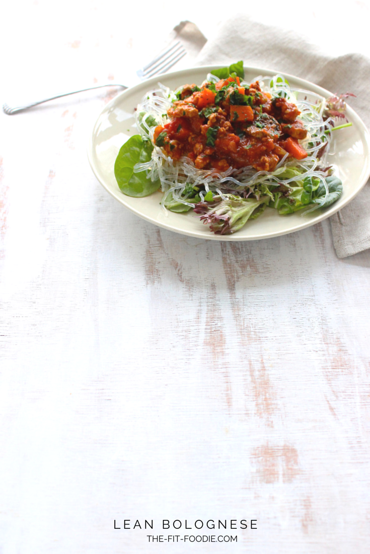 Lean bolognaise from @fitfoodieblog. A #lowcarb, #highprotein recipe, perfect for #weightloss!