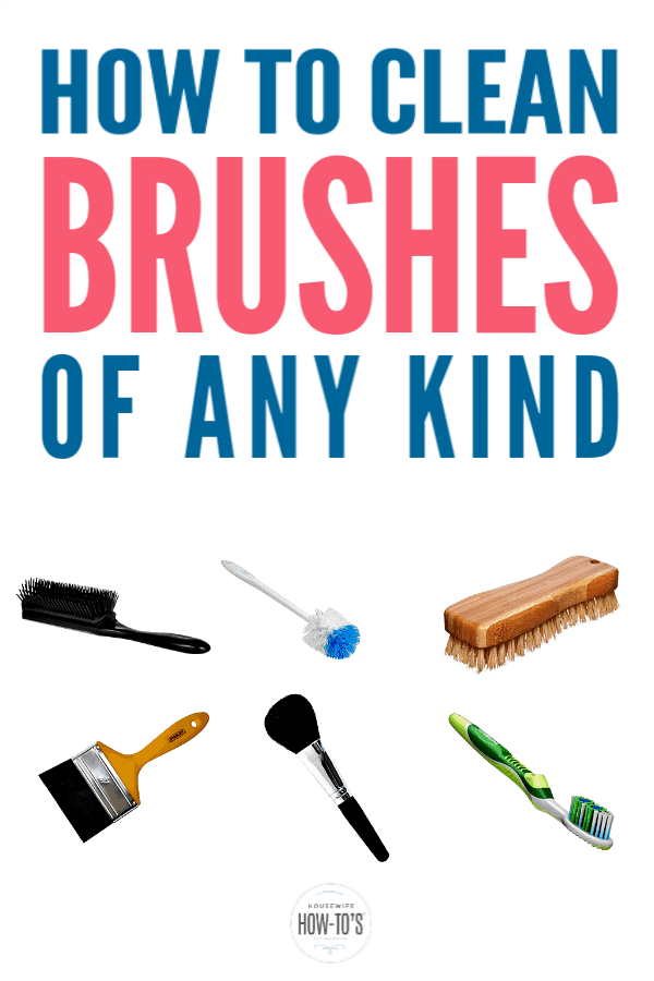 How to Clean Brushes of Any Kind in 2020 Cleaning paint