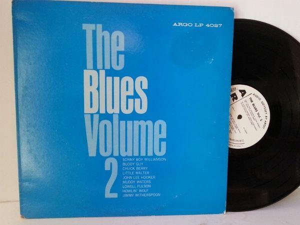 Various The Blues Volume 2 Blues Volume Lps