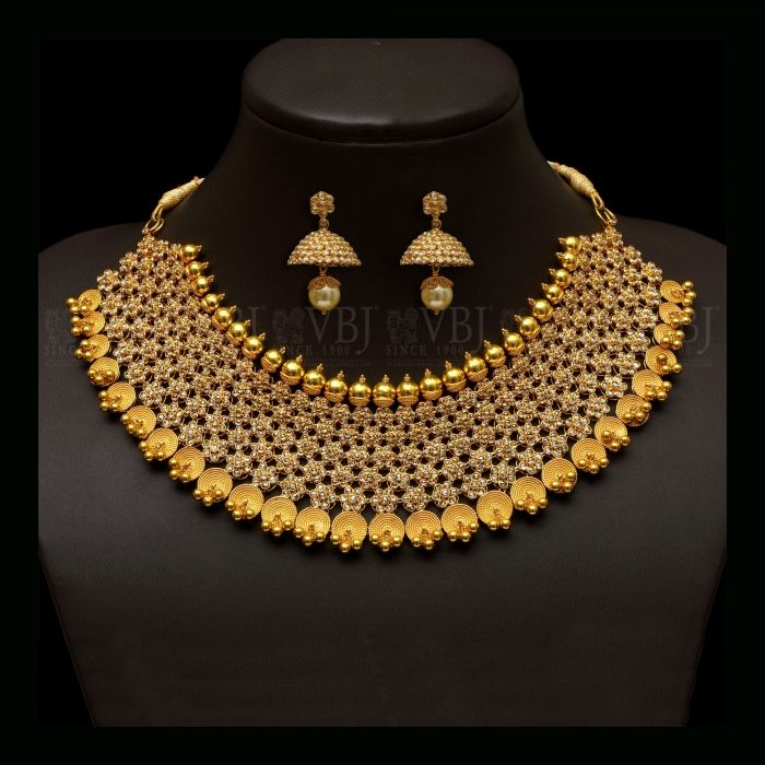 jewellers bangaru uncut pin vummidi diamond necklace