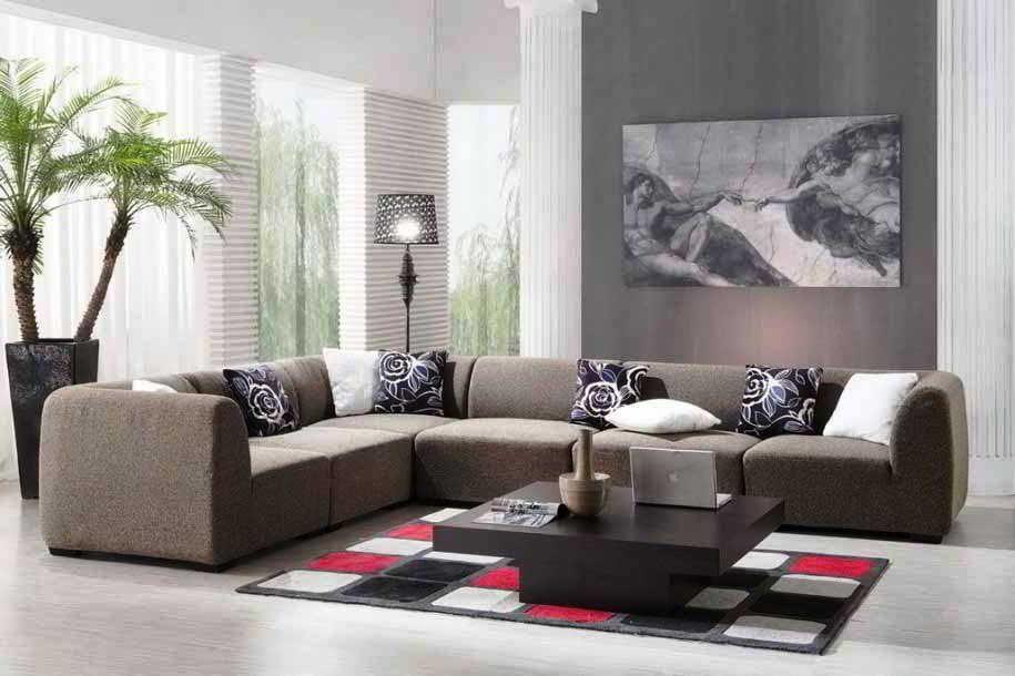 Desain Sofa Ruang Tamu Elegan Living Room Modern Living Room Designs Living Room On A Budget