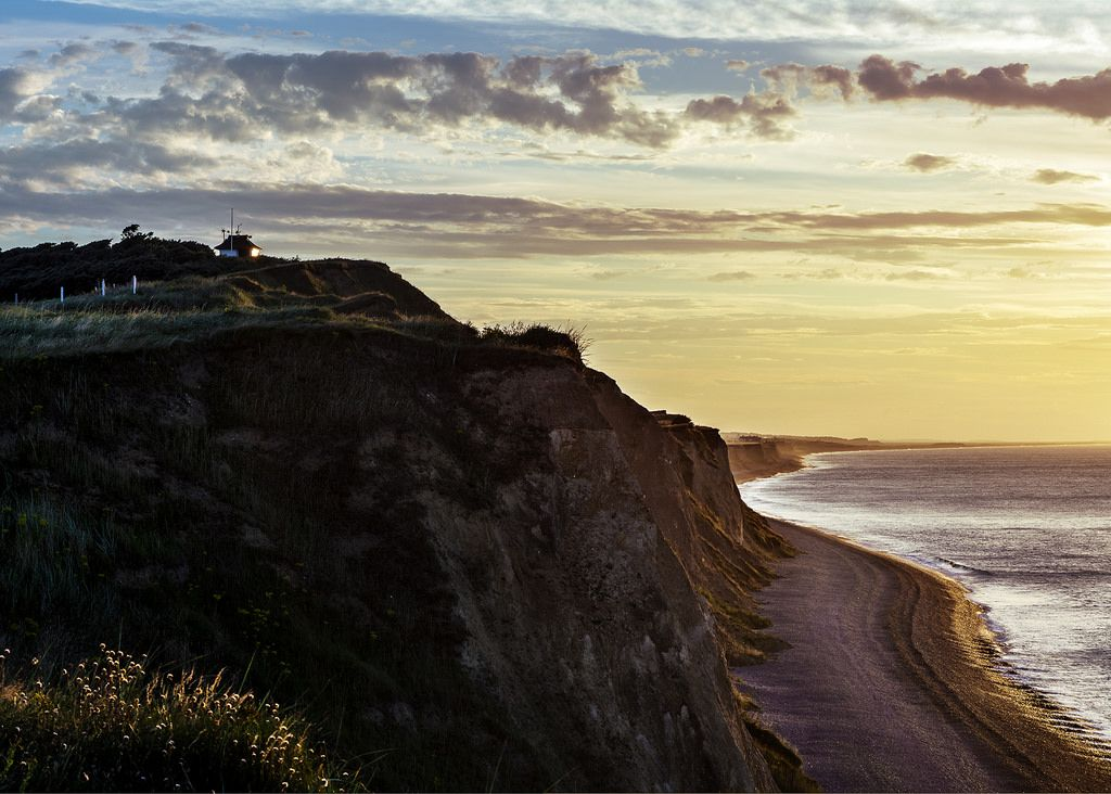 Sheringham coast line by Lazaros E