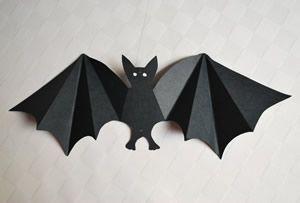 free printable bat template bergfalte means mountain fold talfalte