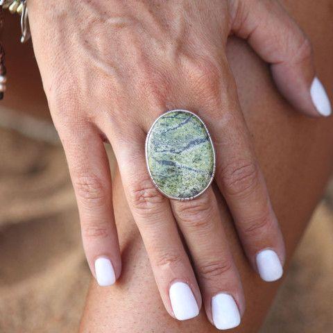 Embella Jewellery - SER 3 - Serpentine Ring