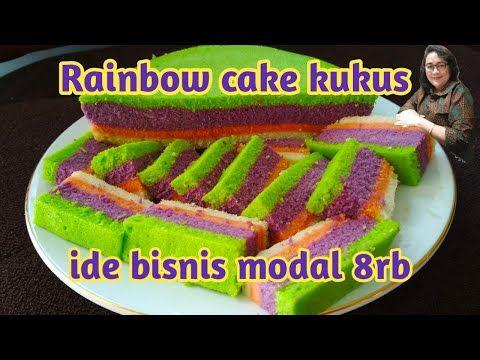 Ide Bisnis Modal Kecil Untung Besar Rainbow Cake Kukus Youtube