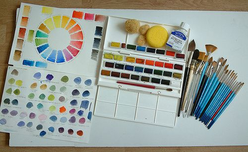Watercolour Painting Supplies Art Painting Supplies Watercolor