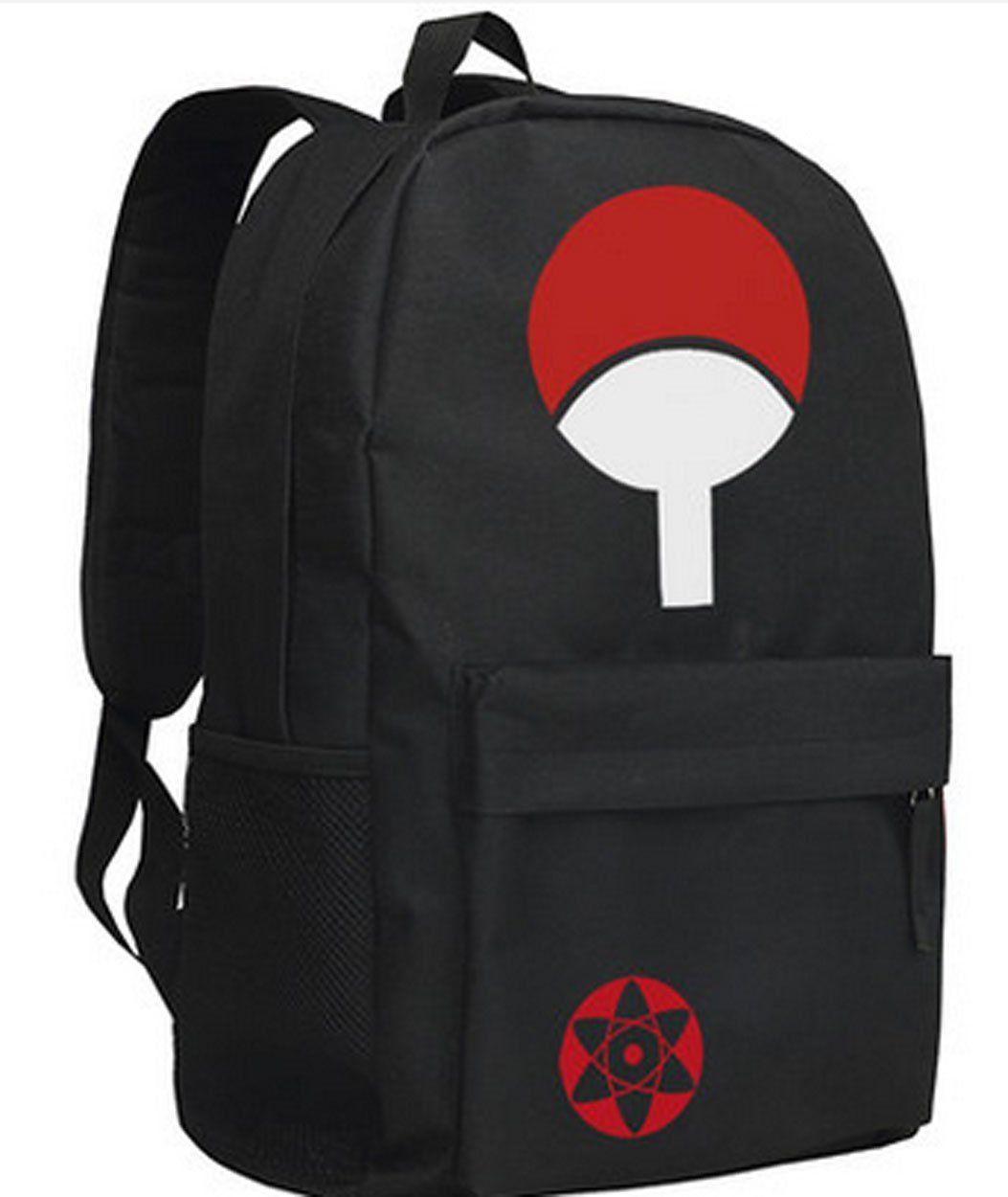 a9767cc97a36 Relaxcos Naruto Uchiha Logo Bag School Bag Cosplay Costume >>> Find ...
