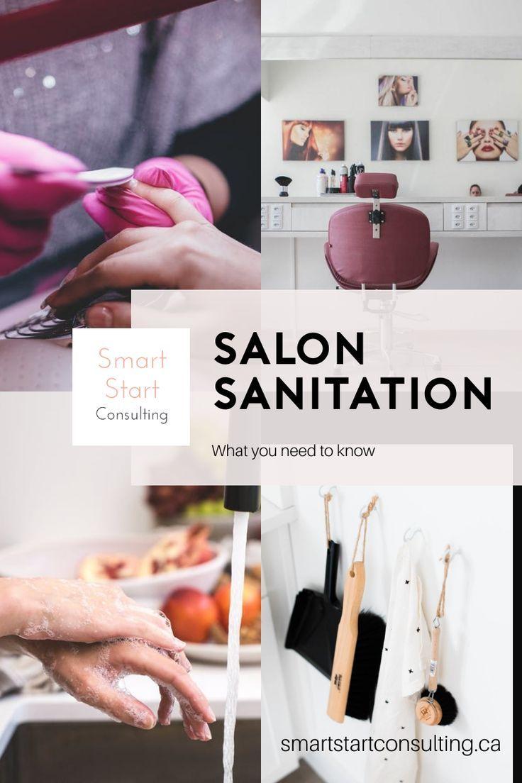 2020 Spa & Salon Sanitation, Disinfection, and