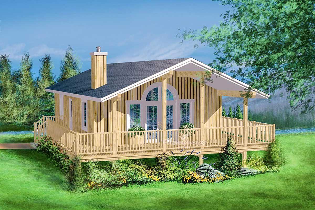 Plan 80166pm Wraparound Escape Beach Style House Plans Coastal House Plans Vacation House Plans