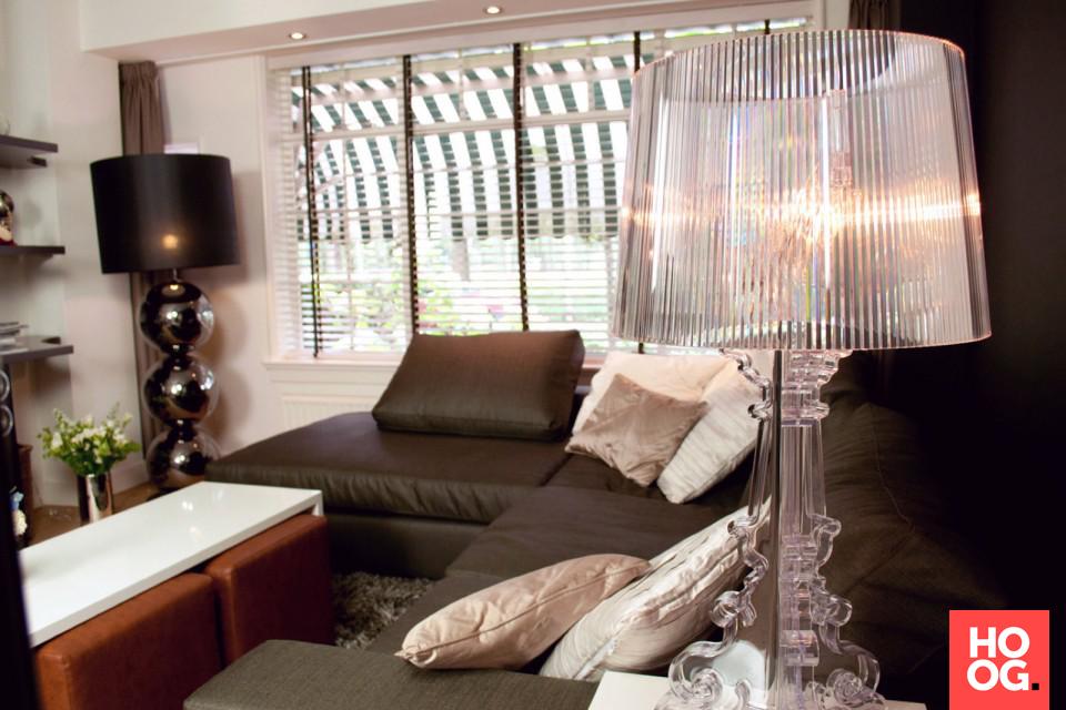 Woonkamer Verlichting Ideeen : Luxe woonkamer met design verlichting en woondecoratie woonkamer
